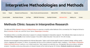 Methods Clinic: Interviews